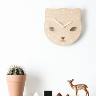 Cece the Cat Clock
