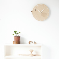 Children's Wooden Birdie Clock