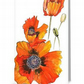 Poppies blank card reproduced from my original ink painting