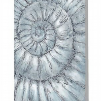 Ammonite no.89 blank greeting card note card notecard notelet fossil project