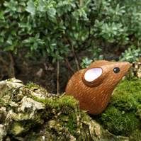 The Mouse handpainted Resin miniature totem