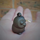 Bronze Metal Owl Charm symbol of intuition, knowledge and wisdom