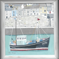 The Little Cornish Fishing Boat