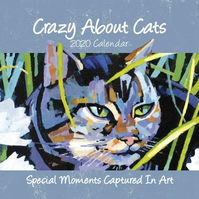 Crazy About Cats 2020 Calendar