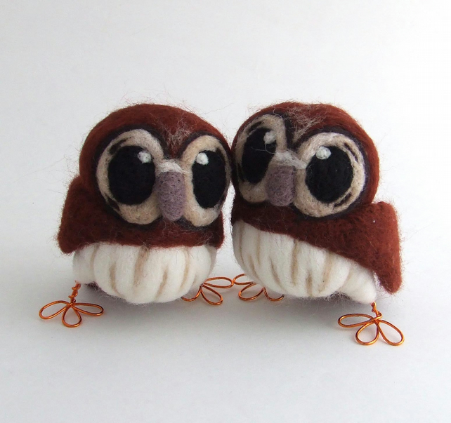Tawny Owl Wedding Cake Topper