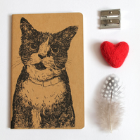 Inky Cat Notebook