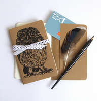 Little Owl Moleskine Notebook