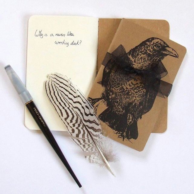 Raven Moleskine Notebook