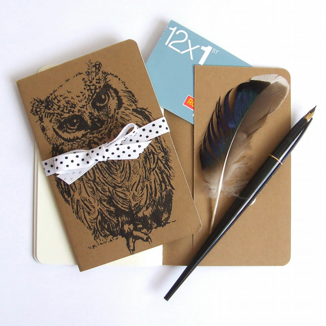 Scops Owl Moleskine Notebook