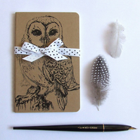 Barn Owl Moleskine Notebook