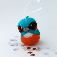 Kingfisher Christmas Decoration, Hanging Decoration