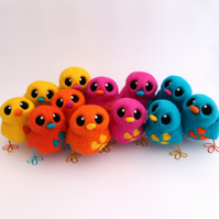 Design Your Own Needle Felted Love Bird