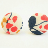 Liberty Fabric 'Nina Taylor' Stud Earrings
