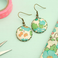 Liberty of London 'Betsy Aqua' Drop Earrings