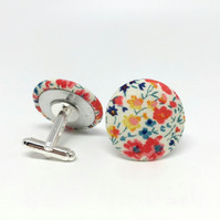 Liberty of London Cufflinks in Phoebe Brights