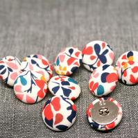 Liberty of London Nina Taylor Fabric Covered Buttons