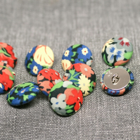 Liberty of London Thorpe Fabric Covered Buttons