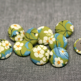 Liberty of London Mitsi Fabric Buttons