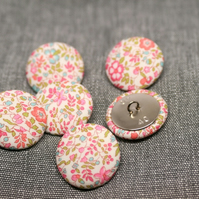 Liberty of London Katie & Millie Fabric Buttons