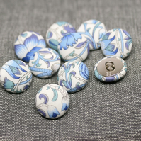Liberty of London Lodden Fabric Buttons