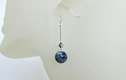 GEMSTONE EARRINGS - With Sterling Silver