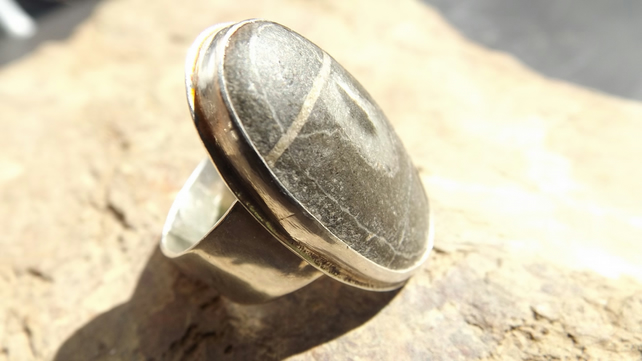 Precious Pebble Ring