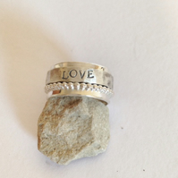 Spinner Ring - Personalised Jewellery - Silver Ring