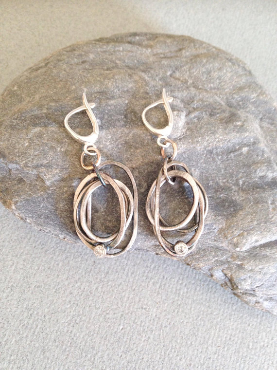 Silver Earrings - Silver Hoop Earrings