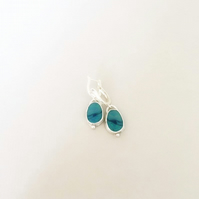 Opal Earrings - Australian Opal Earrings - Australian Opal