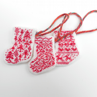 Little Pixie Boots Petit Point Tree Decorations