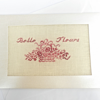 Belle Fleurs. Birthday. Thank you. Bridesmaid. Get Well. Blank. Petit Point Card