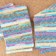 Rainbow Mother and Child Scarf Set