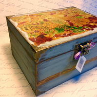 Treasure box Jewellery box Jewelry box Unique decorated box Gifts for him gifts