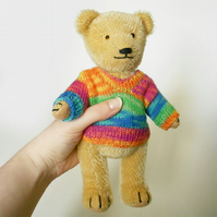 Matti the handmade mohair teddy bear