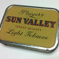 Vintage 2oz Sun Valley Tinamp
