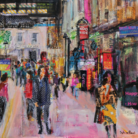London Street Fine Art Card