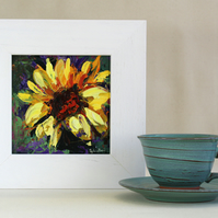 Sunflower Original Painting