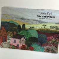 """Bits and Pieces""  Textile Art Book"