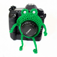 Frog Camera Buddy, Froggie Photo Prop, Frog Lens Buddie