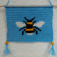 Small Bumble Bee Wall Hanging