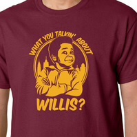 What You Talkin About Willis t-shirt - Gary Coleman Different Strokes Geek 80's