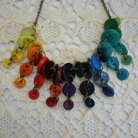 Rainbows end necklace