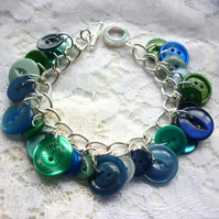 under the sea button bracelet