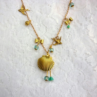 Sale- return to the sea necklace