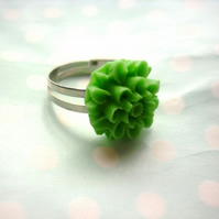 PIF green chrysanthemum ring