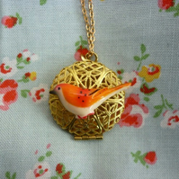 SALE _ little bird locket