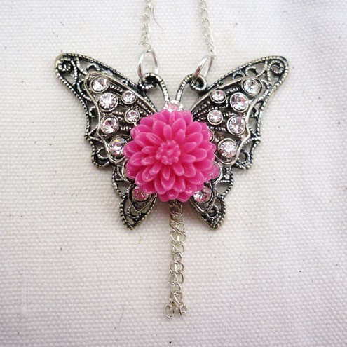 """the butterfly effect"" Necklace"