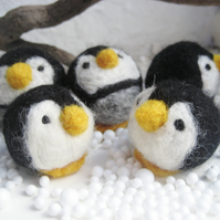 cute little penguins decorations baubles