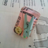 Resin tape measure sewing ring