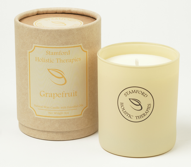 Invigorate: Grapefruit Aromatherapy Jar Candle